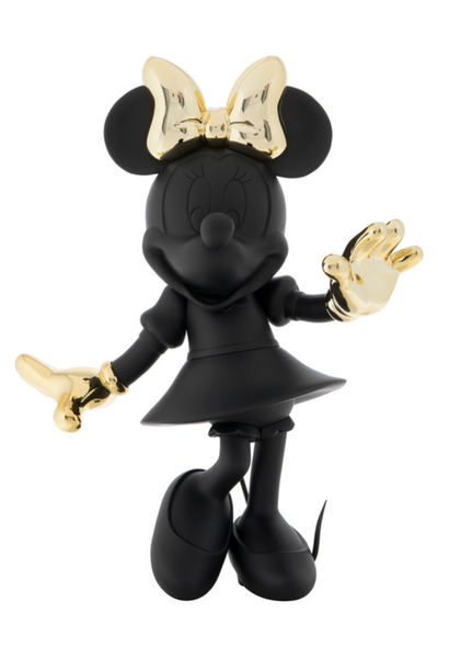 Minnie Welcome Noir & Or 147cm