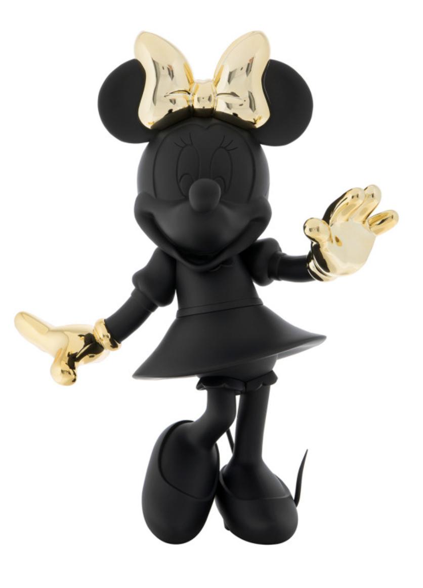 Minnie Welcome Black & Gold 147cm-1