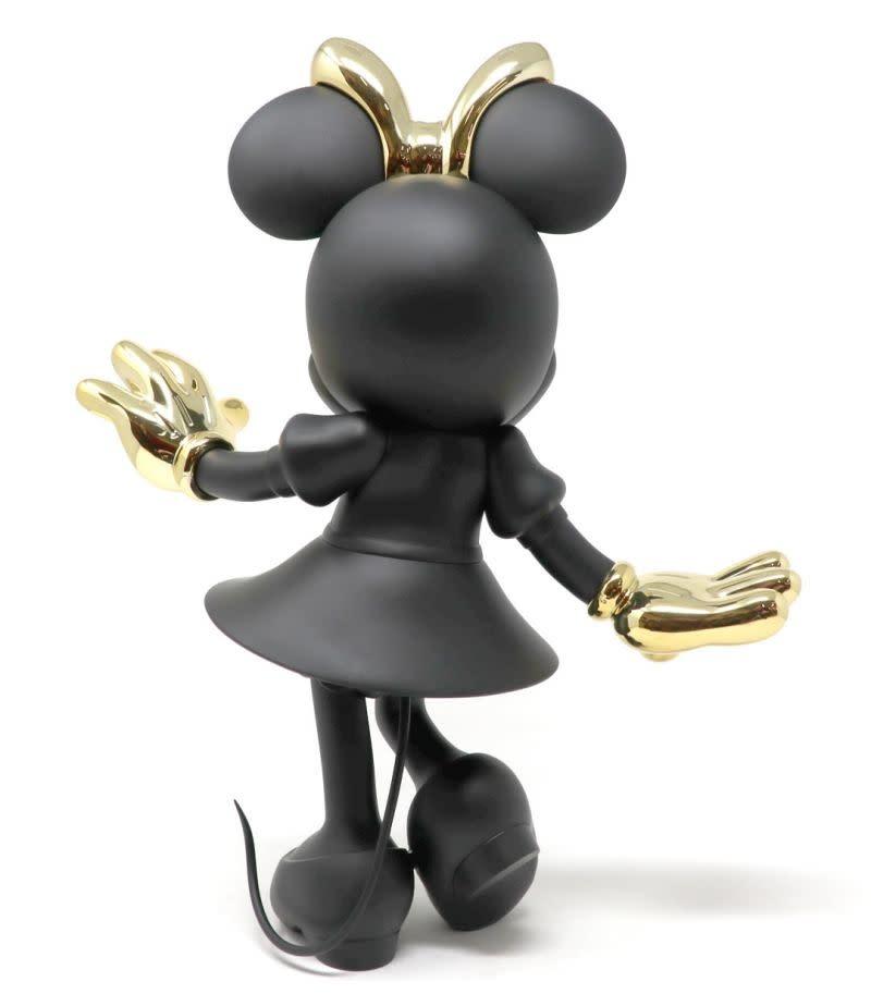 Minnie Welcome Black & Gold 147cm-2