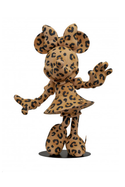Minnie Welcome Léopard 62cm (Edition limitée)
