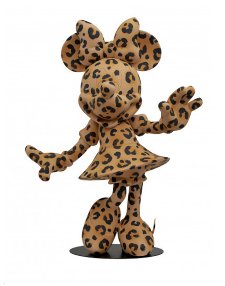 Minnie Welcome Leopard 62cm (Limited Edition)-1