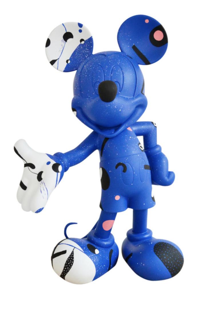 Mickey Cosmic Blue by Thomas Dariel 30cm-1