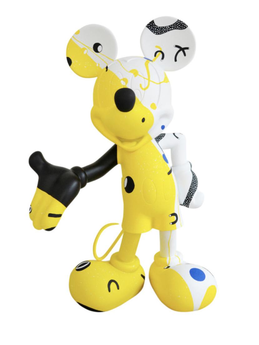 Mickey Cosmic Yellow by Thomas Dariel 30cm-1