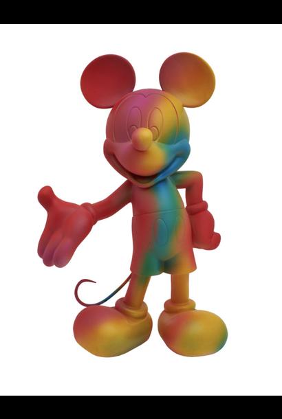 Mickey Welcome Arc-en-Ciel 30cm