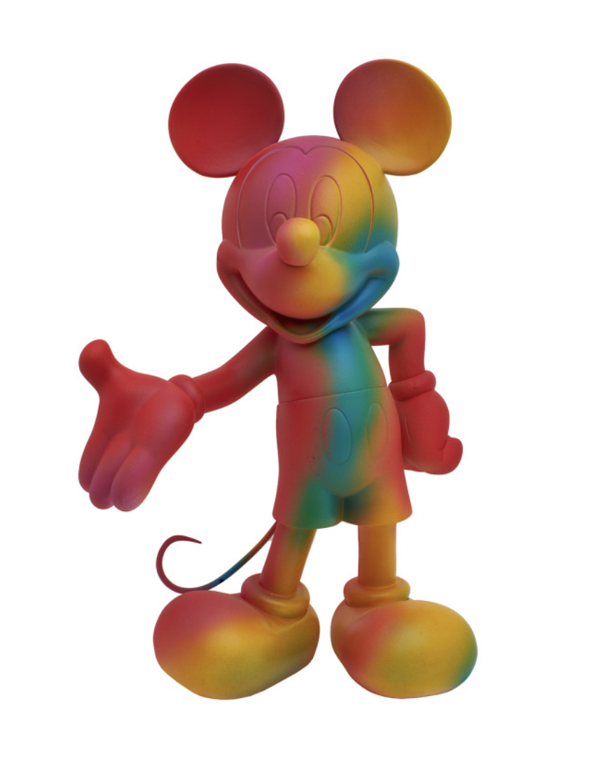 Mickey Welcome Rainbow 30cm-1