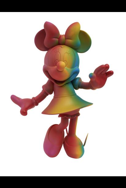 Minnie Welcome Arc-en-Ciel 30cm