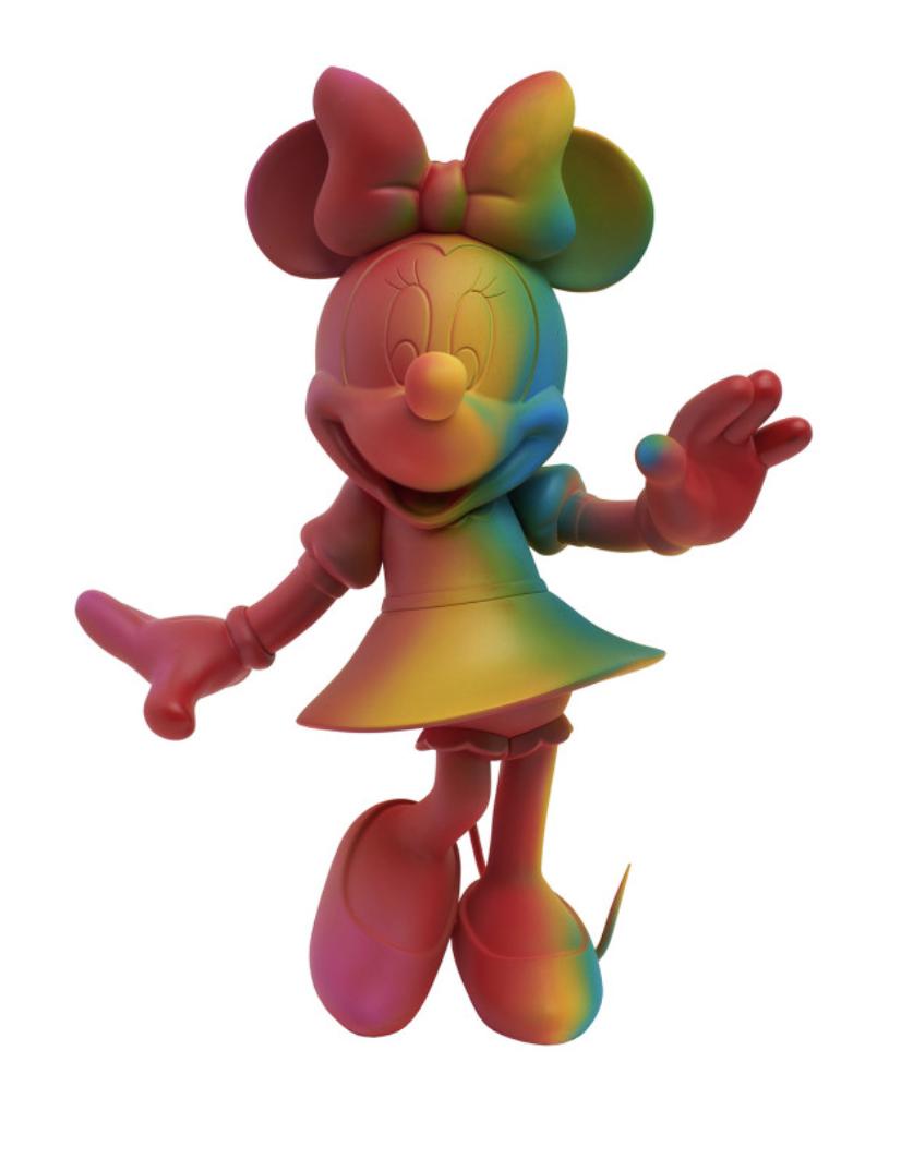 Minnie Welcome Rainbow 30cm-1