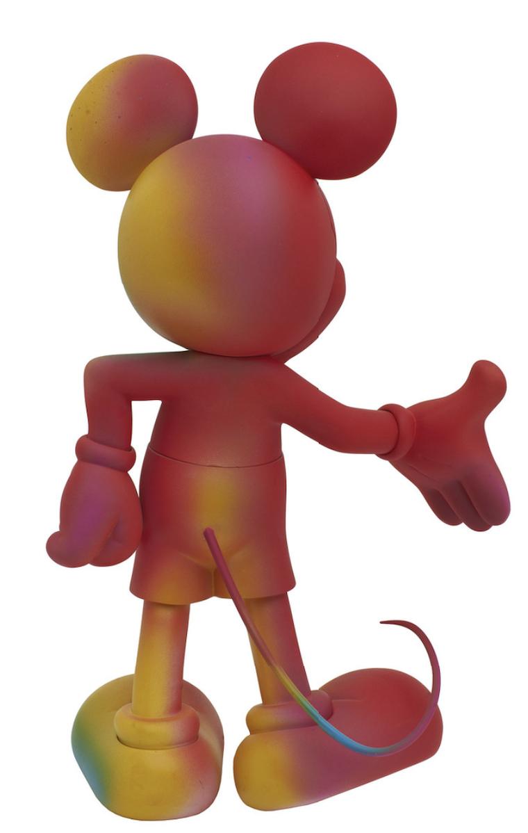 Mickey Welcome Rainbow 30cm-2