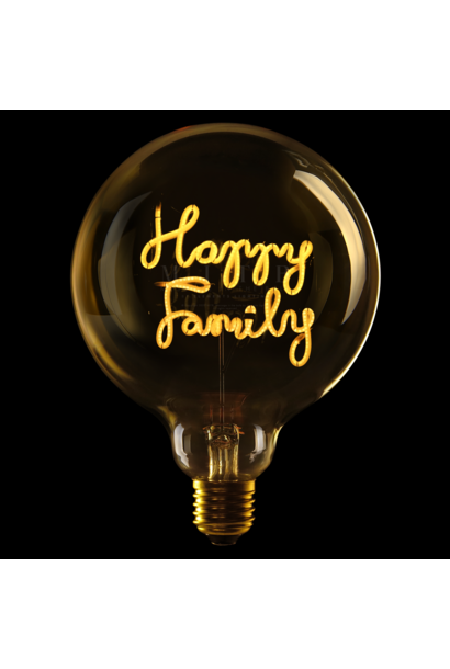 """Ampoule ''Happy Family"""" Ambre"""