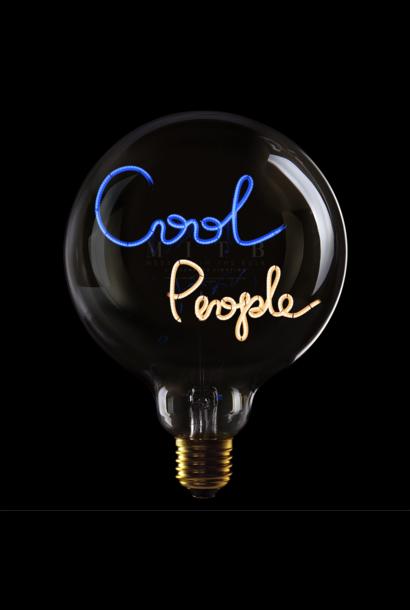 Ampoule ''Cool People'' Bleu & Ambre