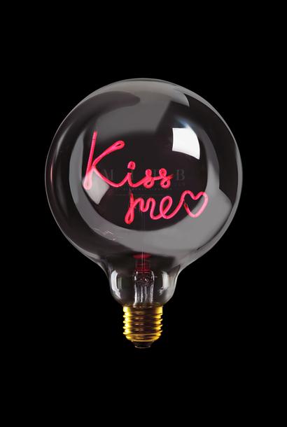 "Luminous Bulb ""Kiss Me"" Smoked Red"