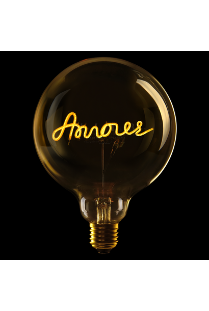 "Luminous Bulb ""Amour"" Amber"