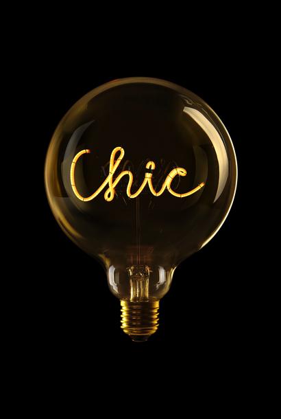 Ampoule ''Chic'' Ambre