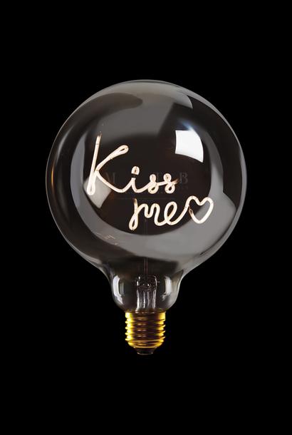 Luminous Bulb ''Kiss me'' Amber