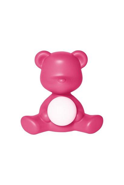 Lamp Teddy Girl Fushia