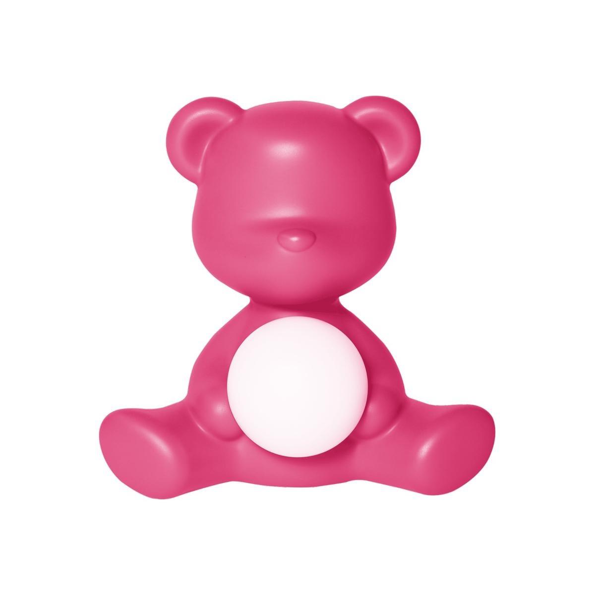 Lamp Teddy Girl Fushia-1