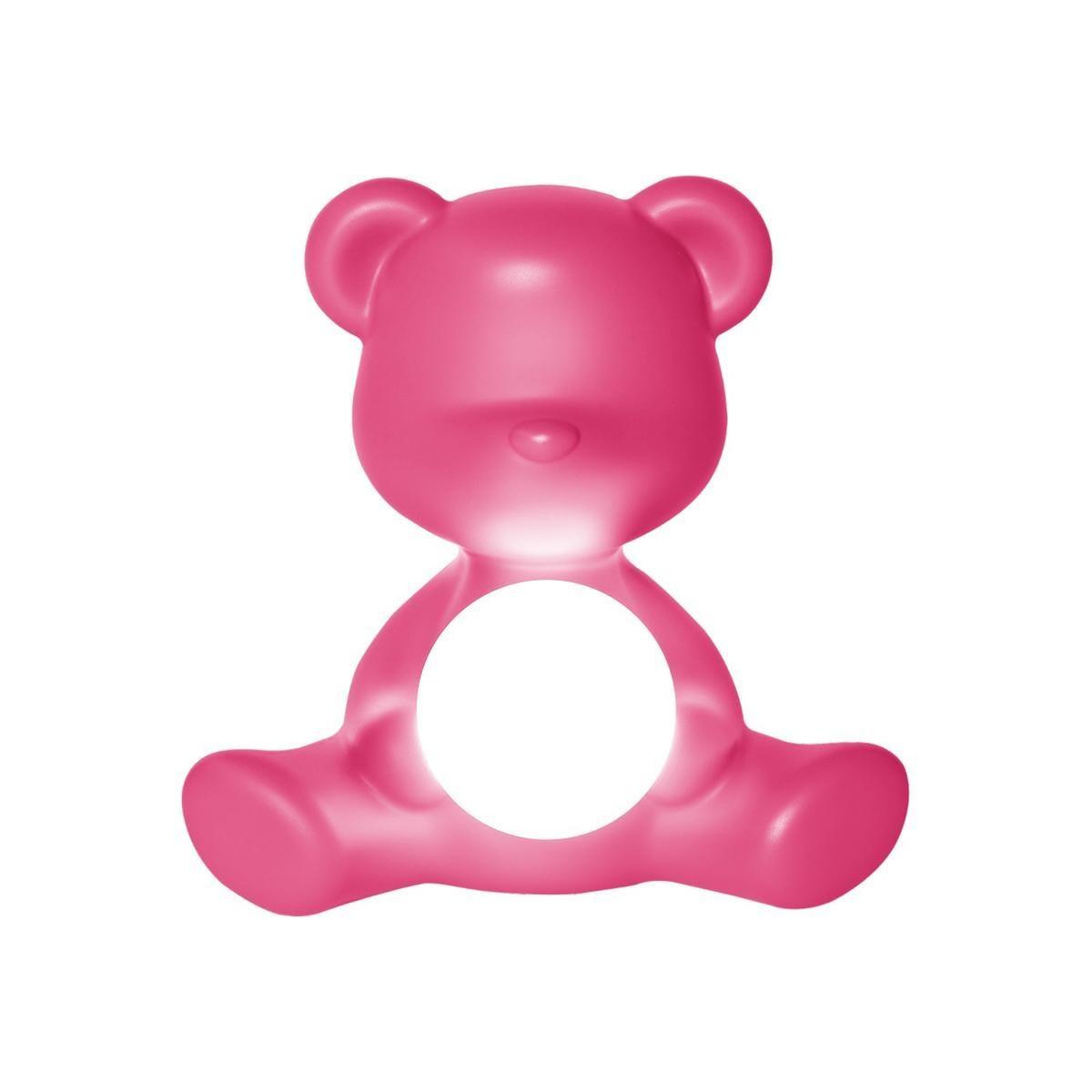 Lamp Teddy Girl Fushia-2