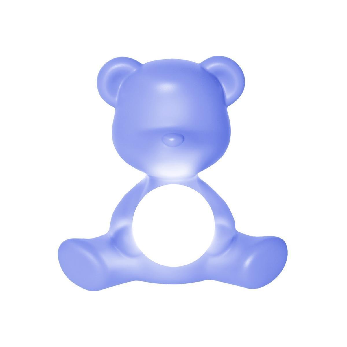 Blue Teddy Girl Lamp-2