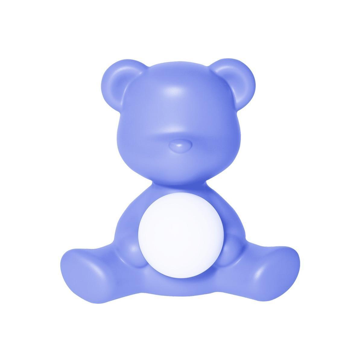 Blue Teddy Girl Lamp-1