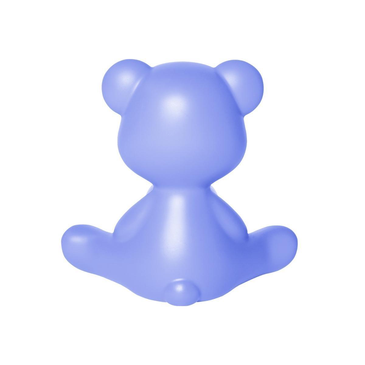 Blue Teddy Girl Lamp-3
