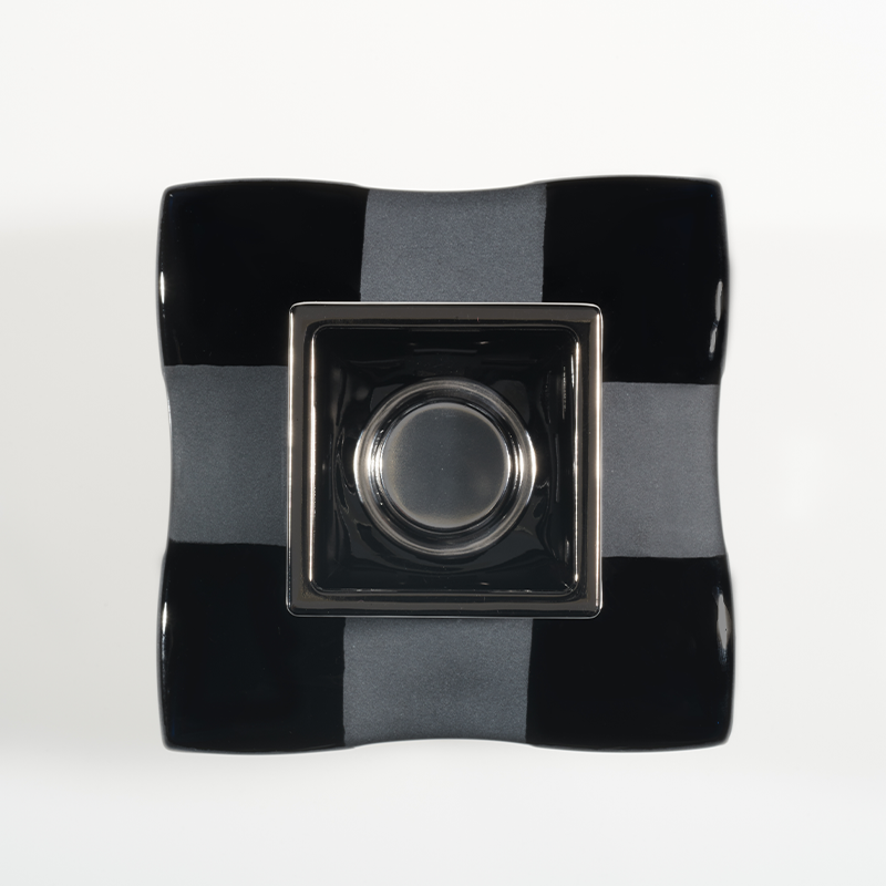 Black Damier Lamp Art Edition-4