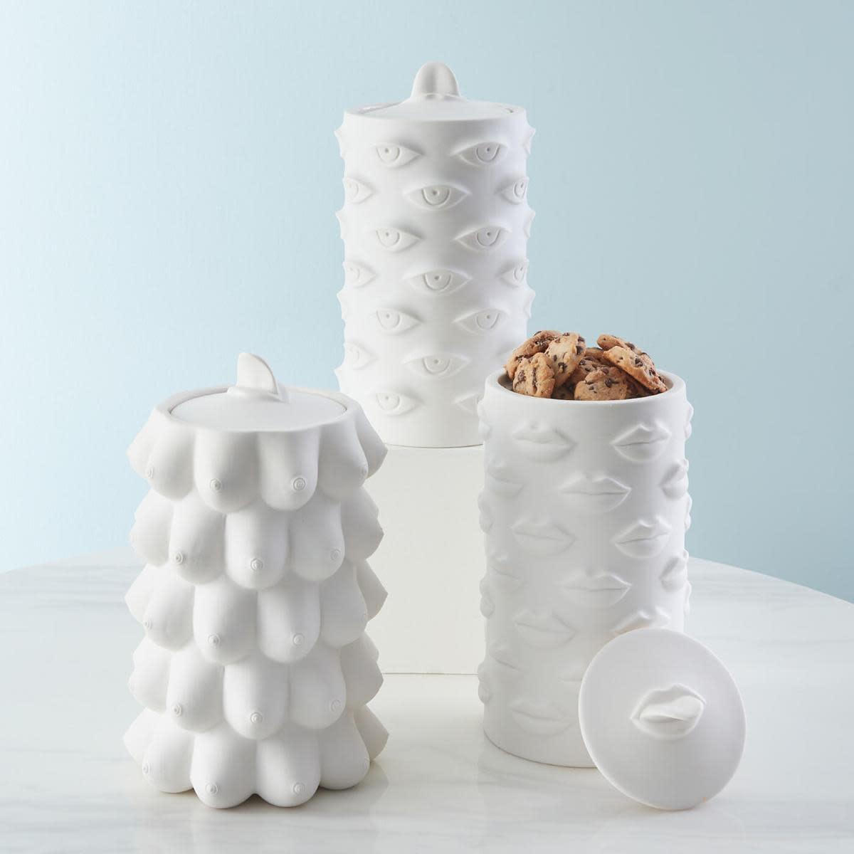 Muse Lips Cookies Jar-2