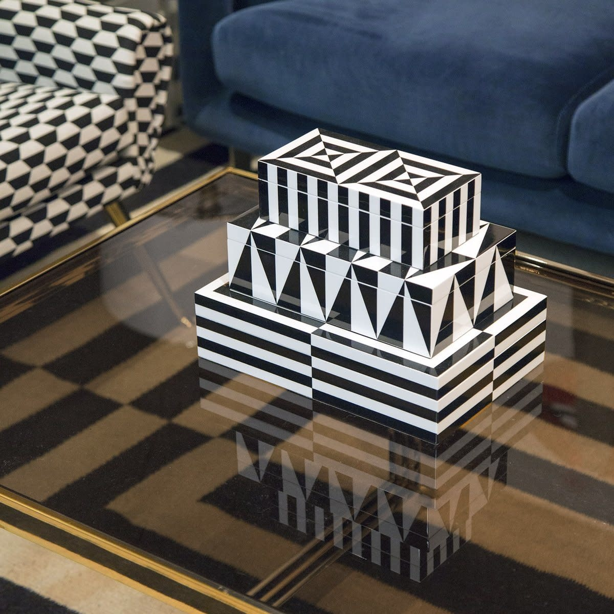 OP Art -  Medium Size Box-3