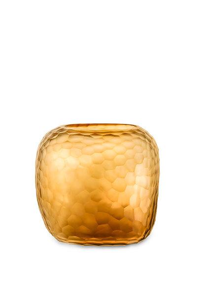 Vase Somba Clear & Gold L
