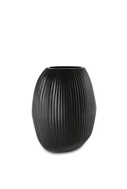 Vase Nagaa Black L