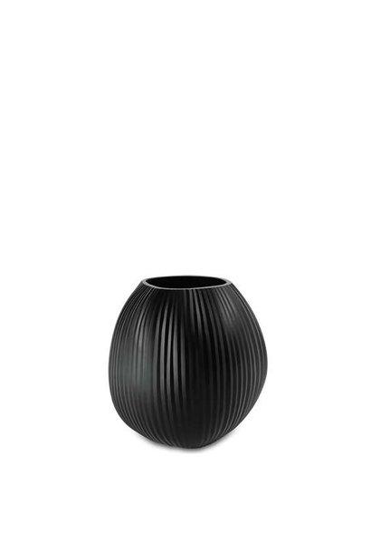 Vase Nagaa Black M
