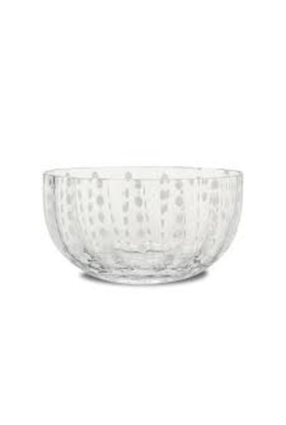 Salad Bowl Pearls Transparent XL