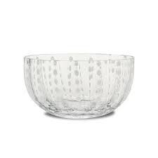 Salad Bowl Pearls Transparent XL-1