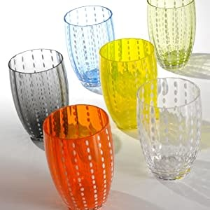 Glasses Grey Pearls Set 2pcs-2