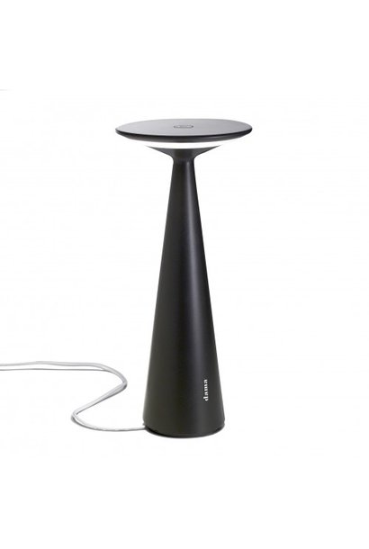 Lampe de Table Dama Pro Noir Brillant