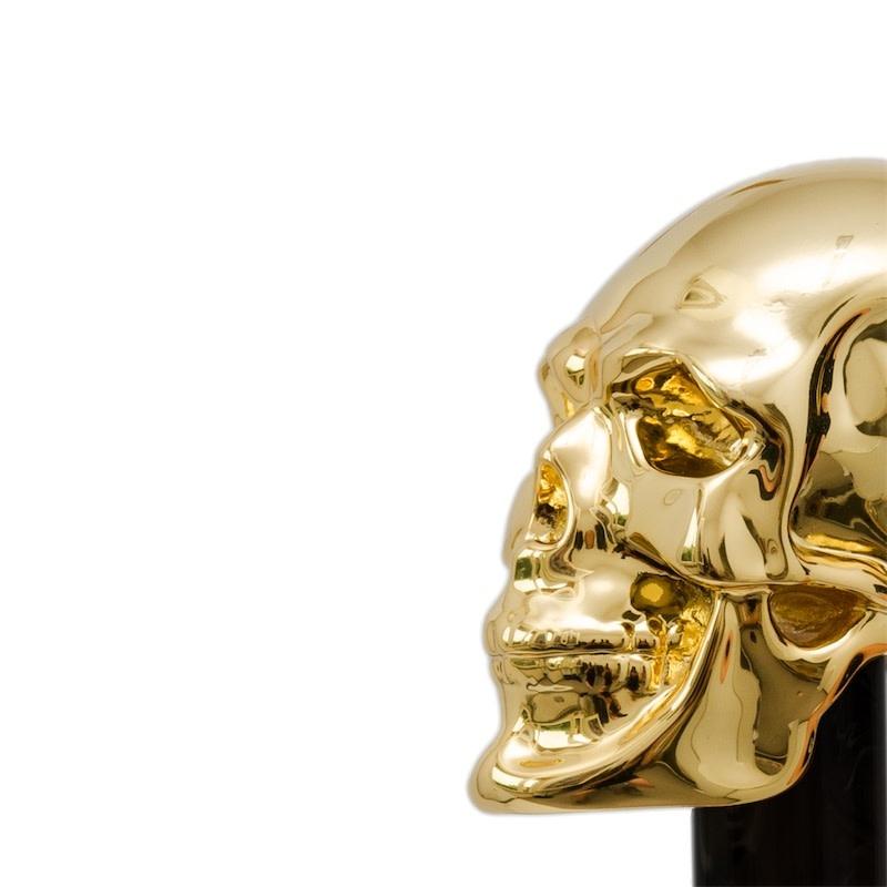 Cane Skull Handle Black / Gold-2
