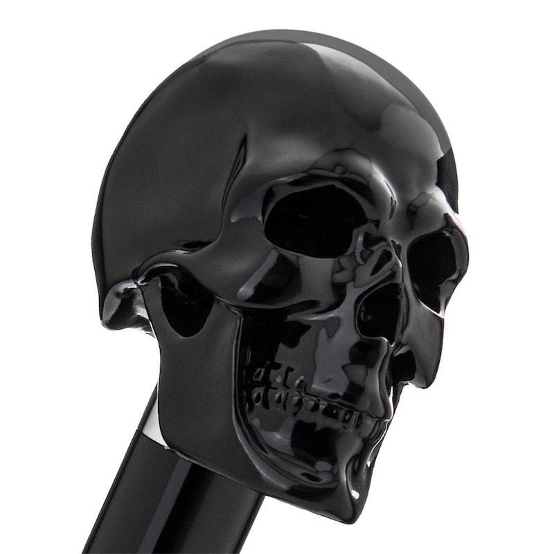 Cane Skull Handle Black-2