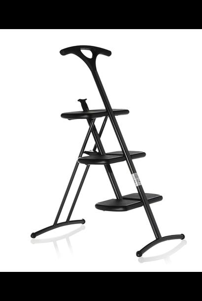 Step Ladder Tiramisu Black Steel