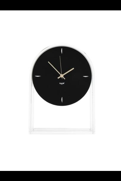 Clock Air Du Temps Crystal / Black