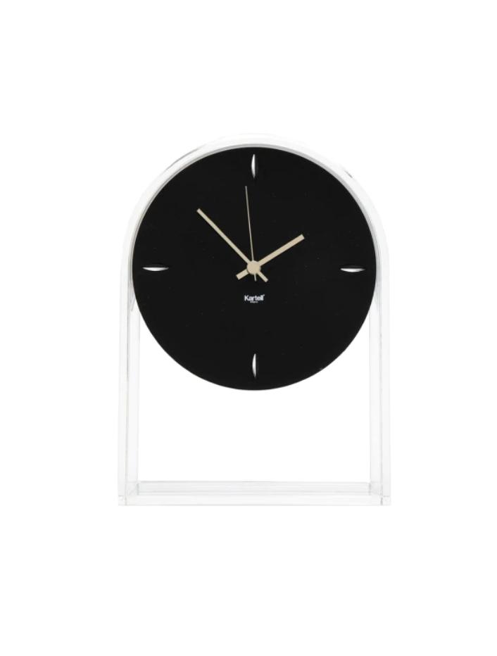 Clock Air Du Temps Crystal / Black-1