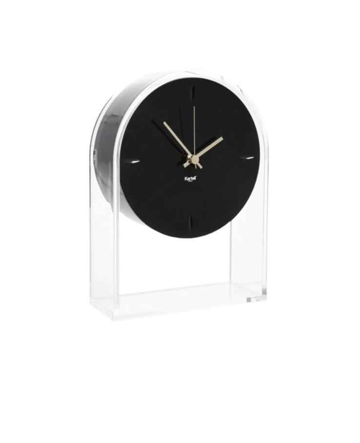 Clock Air Du Temps Crystal / Black-2