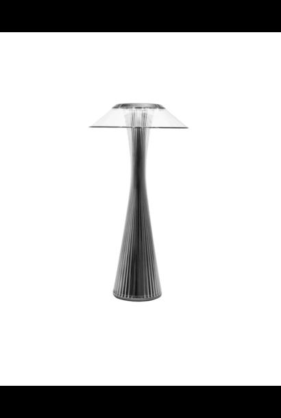 Lampe Sur Pied Space Titane / Noir