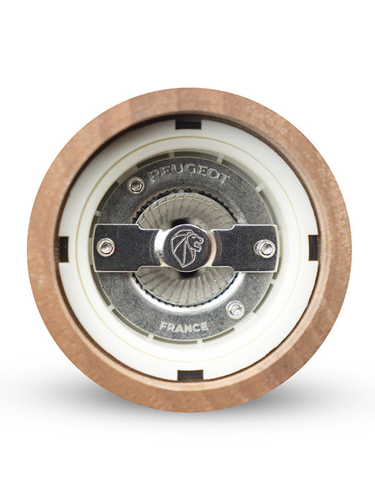 Moulin Paris Icon Manual Salt in Walnut and Stainless Steel 18cm-8