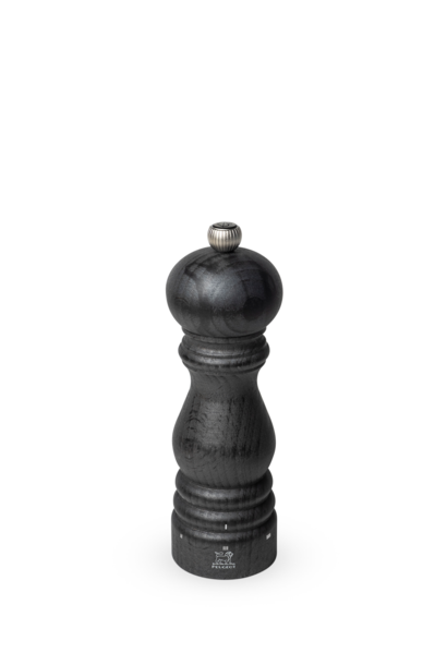 Paris Manual Pepper Mill in Wood U'select Collection Graphite 18 cm - 7in