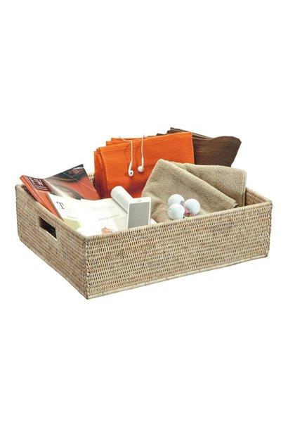Maxi Basket Drawer Ceruse 50x40x15cm