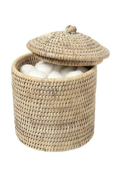 Cotton Pot Catimini White Ceruse