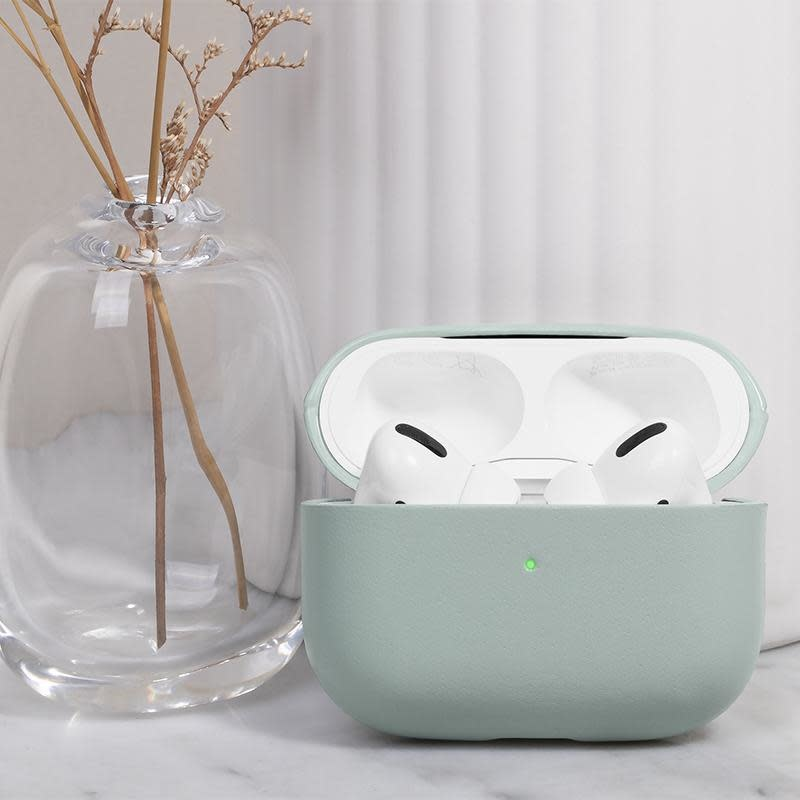 Case Airpods Pro Crafted Sage Pastel Green-3
