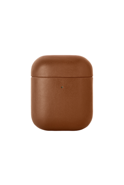 Étui Airpods Crafted Marron