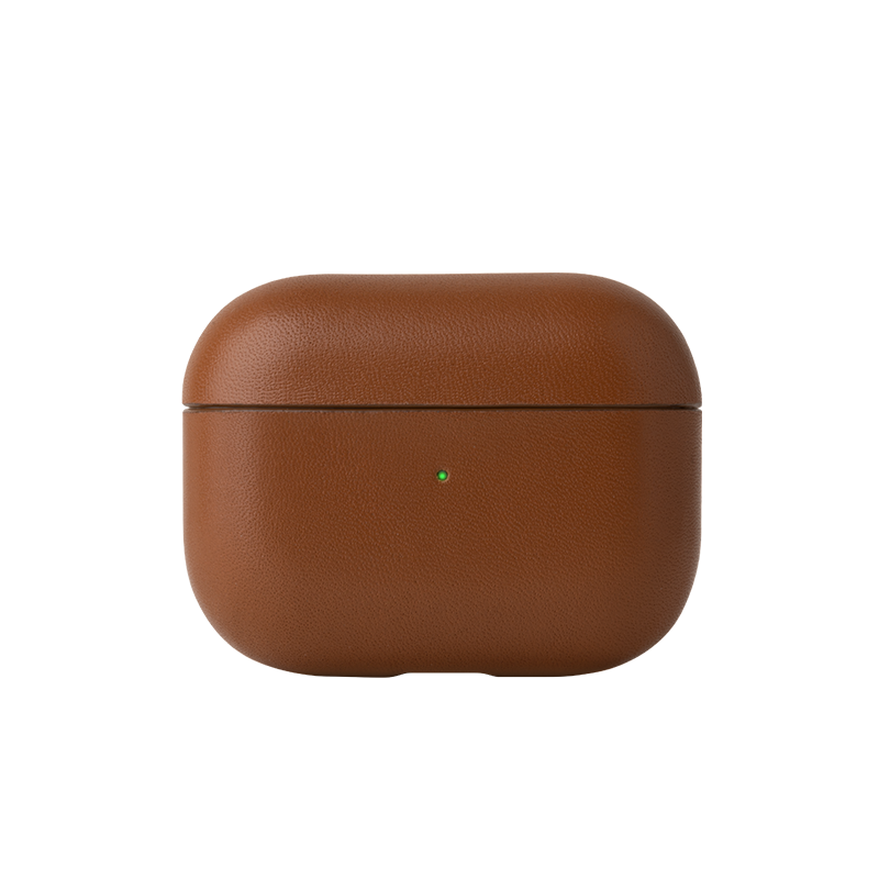 Case Airpods Pro Crafted Brown-1
