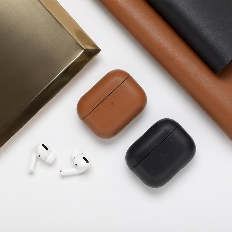 Case Airpods Pro Crafted Brown-3