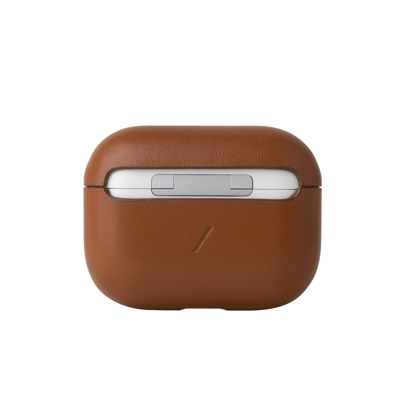 Case Airpods Pro Crafted Brown-2
